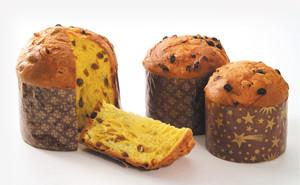 伝統的な発酵菓子パネトーネ